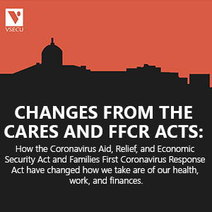 Changes from the CARES and FFCR Acts